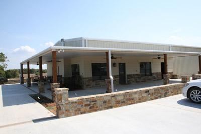 Barndominium homes for sale in texas joy studio design for Metal building house plans texas
